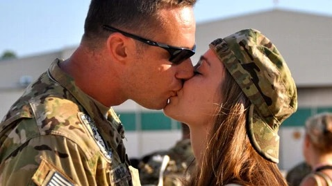 military dating
