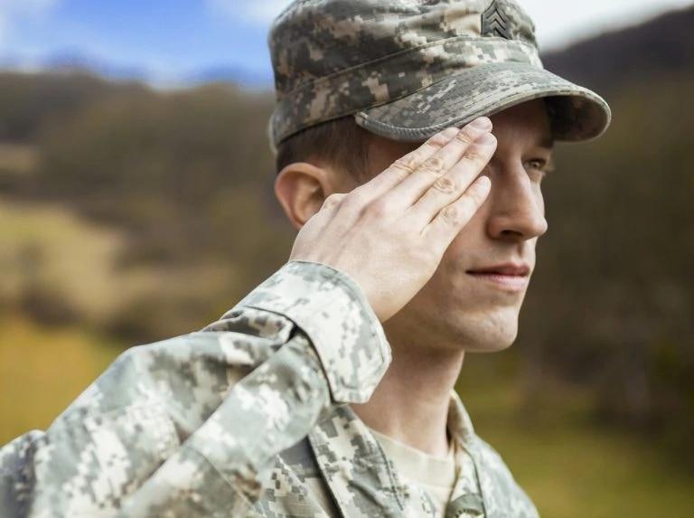 military person