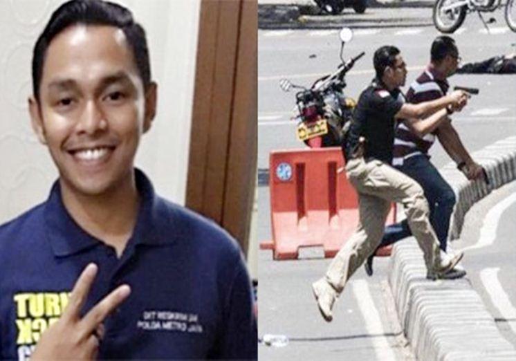 Handsome Indonesian Cop