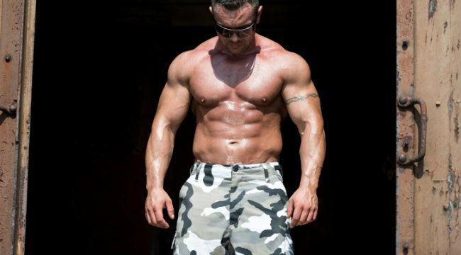 Muscul military man