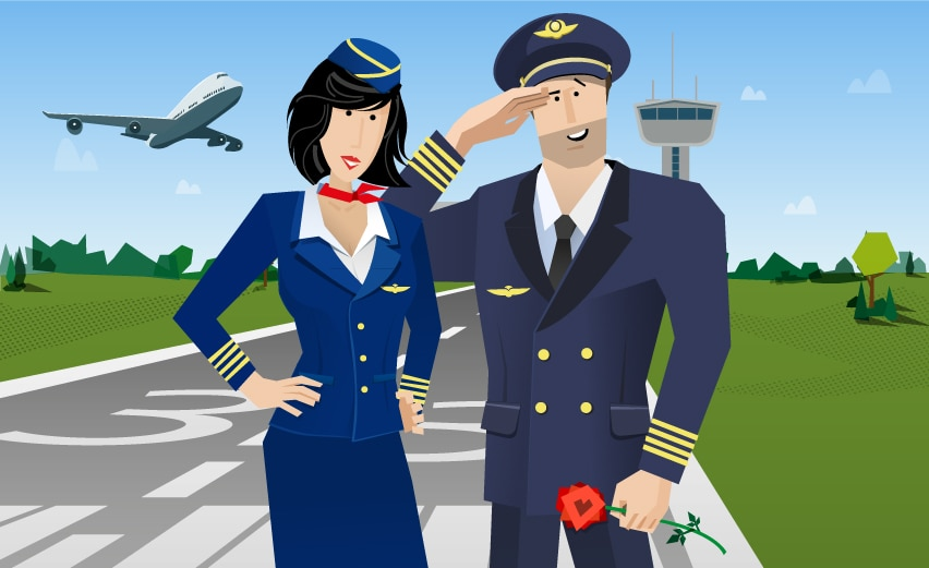 Ever thought about dating a pilot?