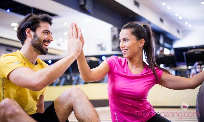 meet men in a gym