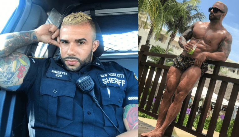 Hot cop Miguel Pimentel